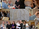 Payton and Camden Baptism Collage