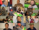 Shelter Holiday Dinner Collage 1