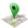 maps icon green