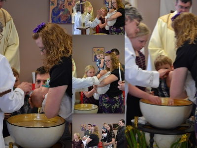 Cooper Baptism Collage